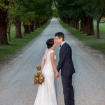 All Saints Estate Winery wedding of Bri and Kale Watkins