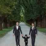 All Saints Estate Winery wedding of Bri and Kale Watkins